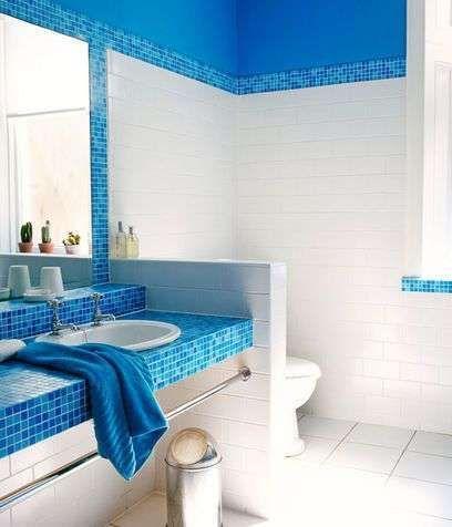 Oltre 25 fantastiche idee su bagno turchese su pinterest - Colori piastrelle bagno ...