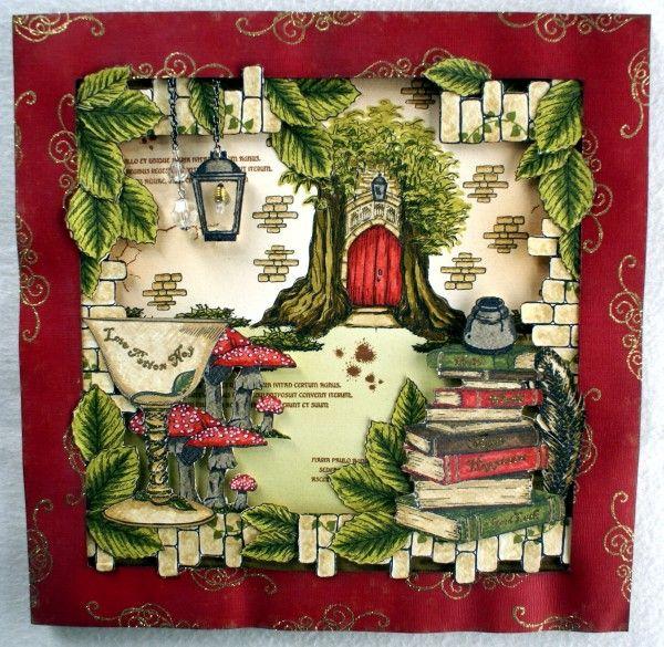 Sheena A Little Bit Magical EZMount Stamp Set - Enchanted Doorway