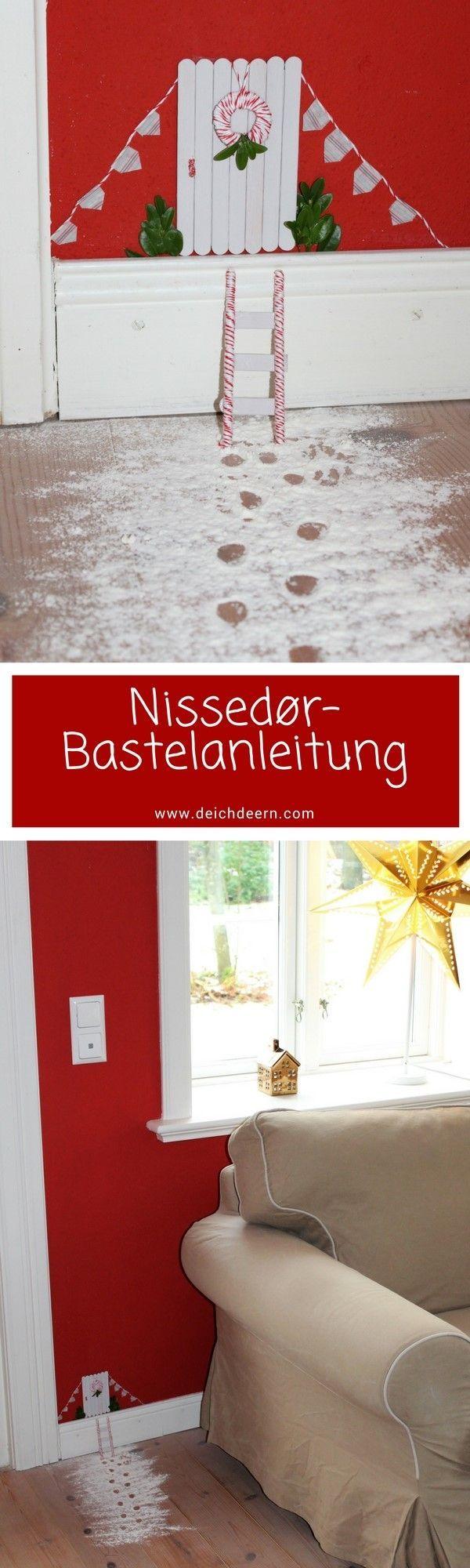 Weihnachten und noch keine Nissedør? Hier gibt es die Wichteltür-Anleitung – – Janina Ennen-Wetz