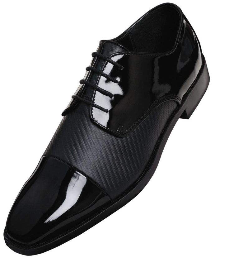 the tuxedo shoe is the rhythm in your step. Go for the Black (Diplomat) Tuxedo Shoes by Barclay to keep your step with the beat.