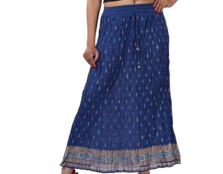 Long skirts online available at Mirraw.com