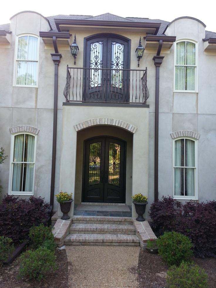 Wrought Iron Doors Front Entrances Entryway