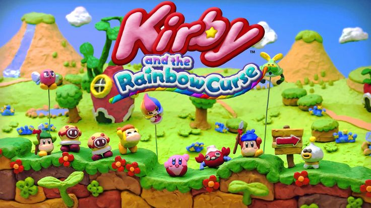 Kirby and The Rainbow Curse : Is one of the latest video game and funnest games to hit the market , releasing Feb. 20th 2015 on Wii U by HAL Laboratories .