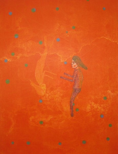 "Killi Olsen ""Orange bilde"" Lito"