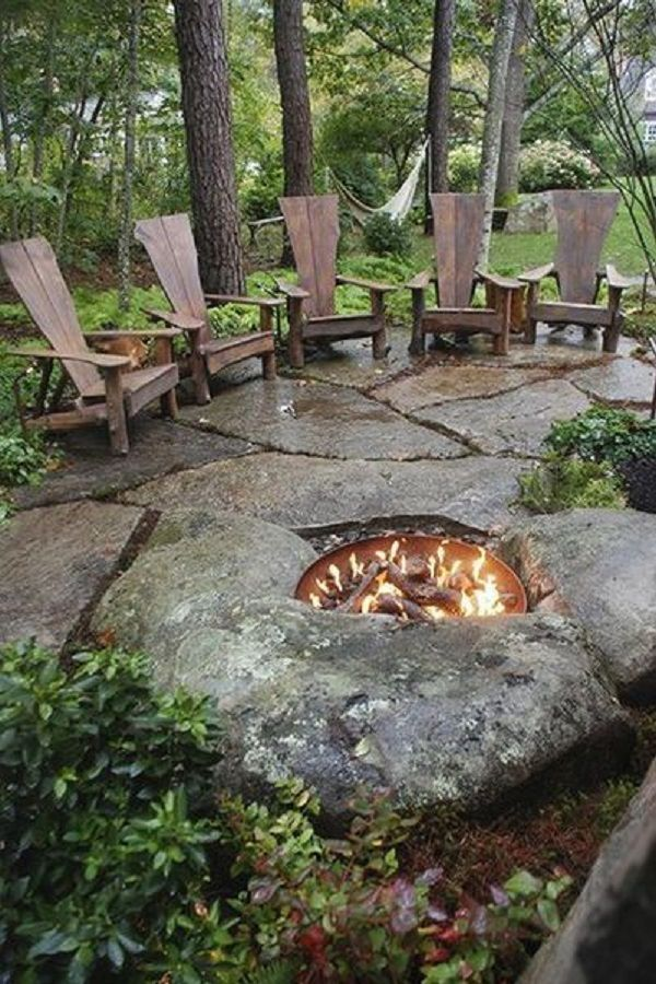 30 Amazing Diy Fire Pit Ideas Outdoor Fire Pit Designs Fire Pit