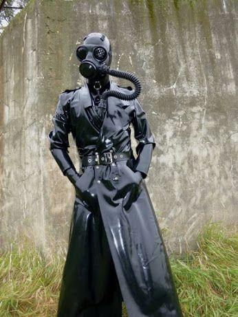 Femdom gas mask