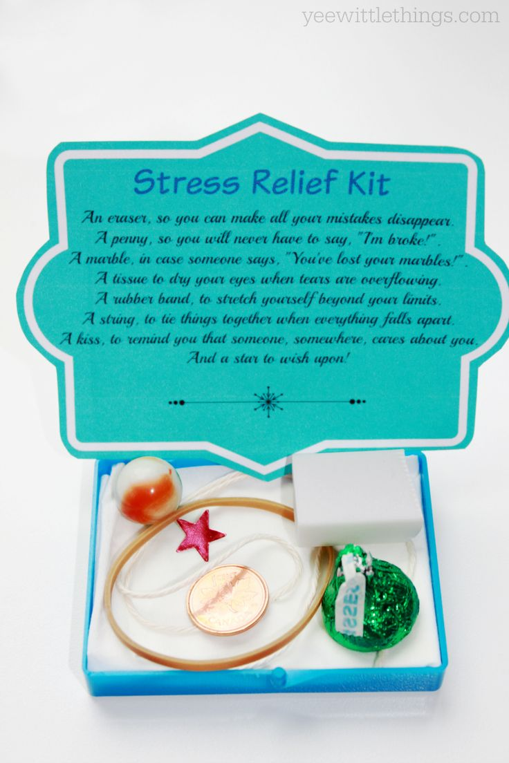 DIY Stress Relief Kit                                                                                                                                                                                 More