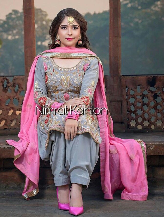 Manidrehar Punjabi Suits Party Wear Indian Designer Outfits Embroidery Suits
