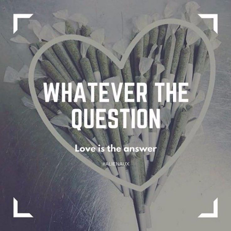 Whatever The Question Love Is The Answer  #herb #ganja #marijuana #maryjane #blunt #weed #hash #stoner #cannabisculture #cannabiscommunity #Cannabis #ganjagirls #science #technology #hiphop #rap #indie #major #music #thc #cannafam #legalize #420 #stayhigh #highlife #danknugs cannalove #bluntsfordays #cannafam