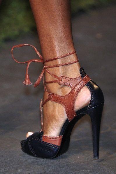 Two toned Hermès heels ~ 50 Ultra Trendy Designer Shoes - Style Estate -