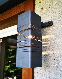 … Metall Wandlampe. #Wandlampe