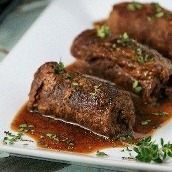 German Beef Rouladen recipe