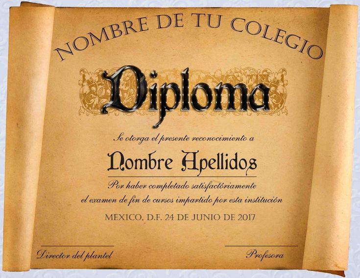 El blog del diseñador gráfico**: Diplomas de reconocimiento en .