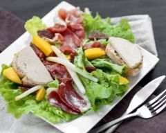 Salade landaise : http://www.cuisineaz.com/recettes/salade-landaise-2118.aspx