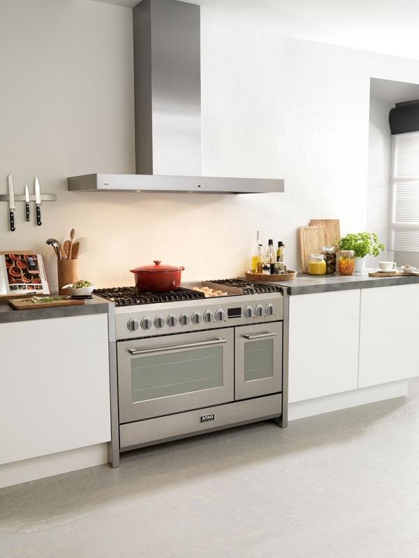 Mooi ruim fornuis voor alle pannen en ovenschotels - ATAG