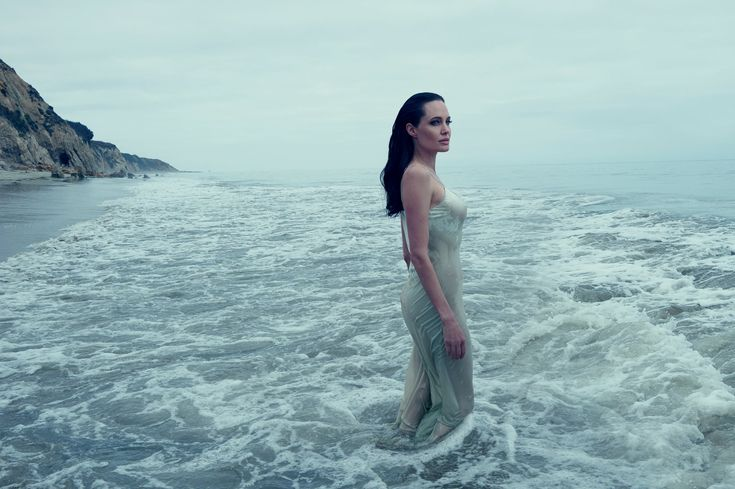 The Birth of Venus - The actress served as screenwriter, director, producer, and female lead of her current movie, By the Sea. Jolie Pitt wears a Calvin Klein Collection dress.