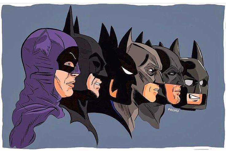 Batman Evolution by Pachu M Torres