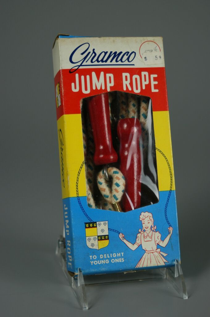 Jump Rope. I was good at it then, I'm not sure I could even complete one jump now!