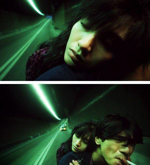 Takeshi Kaneshiro and Michelle Reis in Fallen Angels by Wong Kar-wai, 1995