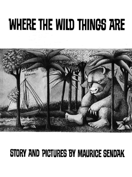 Kindle 4 Screensaver: Where the Wild Things Are