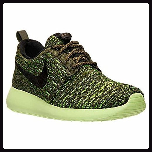 Nike Roshe Flyknit, Damen Laufschuhe , grün - grün - Größe: 36 EU -