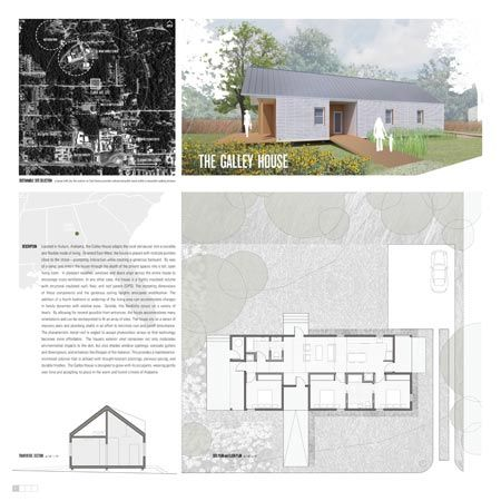 """Construir casas modulares, com três cômodos, que não excedessem o valor de US$ 100 mil em materiais, foram as exigências do concurso anual norte-americano de design """"Sustainable Home: Habitat for Humanity"""". Voltada para estudantes universitários, a competição anunciou recentemente os cinco projetos ganhadores."""