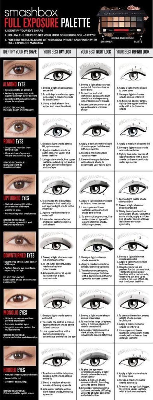 Eye Makeup Tips | Best Eyeliner and Eyeshadow Tips by Makeup Tutorials at http://makeuptutorials.com/makeup-tutorials-beauty-tips