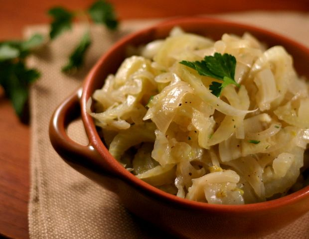Caramelized Fennel and Onion - 2 Points Plus per serving