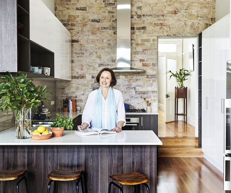 Renovated Kitchen With Exposed Brick Wall And Mix Of Earthy Materials In Sydneyu0027s  Inner West Part 76