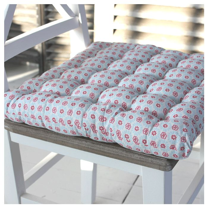 Ditsy floral seat pad