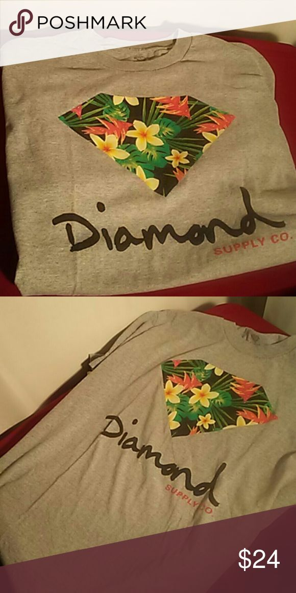 Diamond supply company shirt large good condition Authentic diamond supply shirt size large barley worn good condition no stains. Diamond Supply Co. Shirts Tees - Short Sleeve