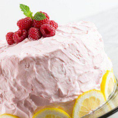 Recipe: Skinny Raspberry Lemonade Cake
