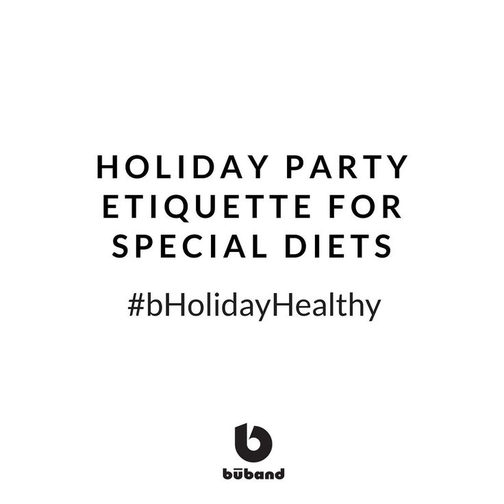Holiday Party Etiquette for Special Diets #NewPost http://ift.tt/2pq1QQL #bHolidayHealthy With a little planning you can enjoy a holiday event when you're on a restricted diet and host a party that accommodates your guests' special dietary needs.  #Buband #runninggear #fitness #fitnessgear #gymgear #workoutwear #gymwear #boobbounce #womensfitness #womensworkout #breastsupport #sportsbra #breastbounce #FitnessSupport #RunningSupport #boobsupport #BreastHealth #CoopersLigaments #motherrunner…