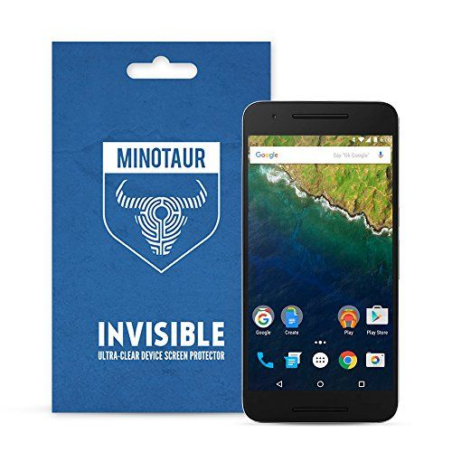 From 1.97 Google Nexus 6p (2015) Screen Protector Pack Super Clear By Minotaur (6 Screen Protectors)