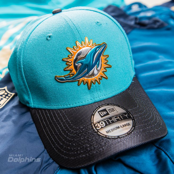 Men's New Era Aqua/Graphite Miami Dolphins Gold Collection On ...