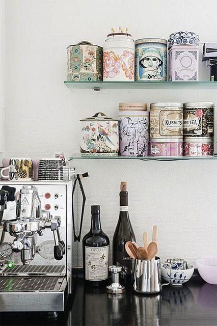 inspiracje w moim mieszkaniu: Kącik kawowy / Coffee corner