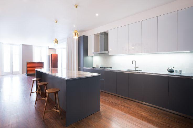 Esclusivo progetto GeD cucine nel cuore di New York, 10 Bond Street. Scopri le caratteristiche del progetto e le soluzioni personalizzate dei mobili cucina e living.