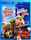 Of Pirates & Pigs Collection: Muppet Treasure Island/The Great Muppet Caper [2 Discs] [Blu-ray/DVD], 11902300