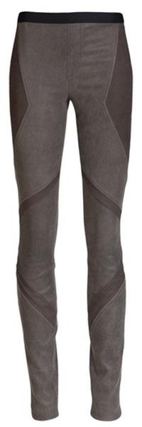 Embossed Leather Legging
