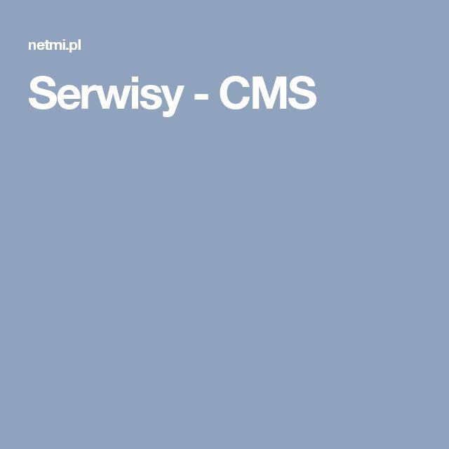 Serwisy - CMS