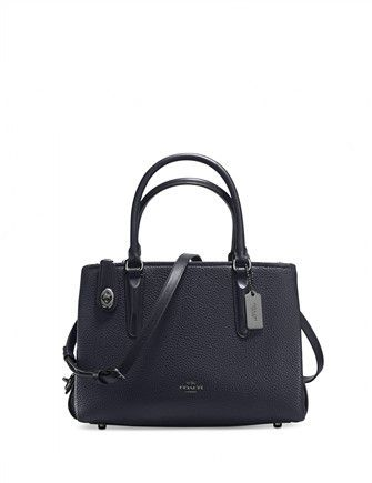 Coach Brooklyn Carryall 28 in Pebble Leather