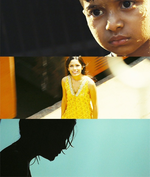 """Slumdog Millionaire  """" I'll wait for you at the train station every day at five."""""""