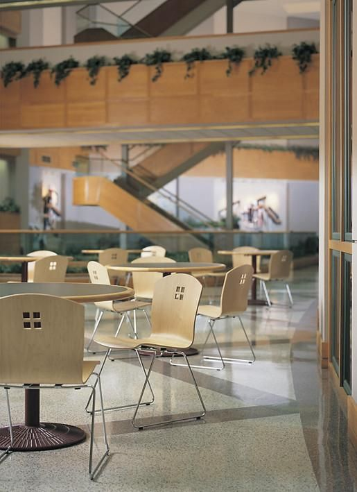 The Hospital Cafeteria Can Be A Getaway For Patients, Visitors And Staff.  Be Sure