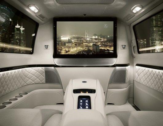 Mercedes-Benz Viano Vision Diamond - chauffeured luxury