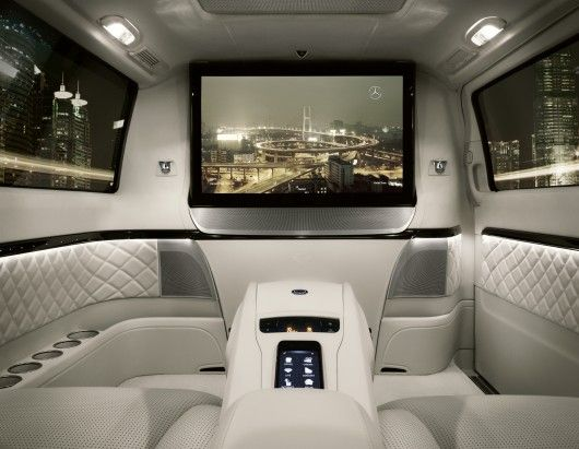 Mercedes-Benz Viano Vision Diamond - chauffeured luxury