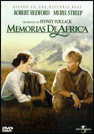 Memorias de África (1985), dirigida por Sidney Pollack. Meryl y RRedford, mi actor favorito, favorito, de siempre.