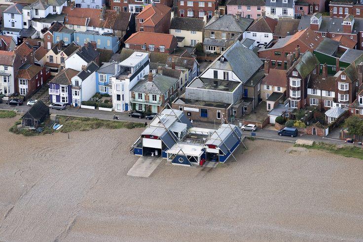 Aldeburgh Lifeboat Station aerial image | by John D F