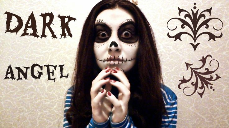 Creepy Skeleton Makeup