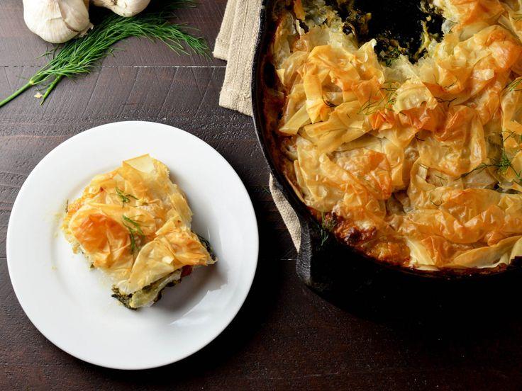 Creamy Garlic Chicken Spanakopita Skillet Recipe | Serious Eats