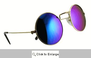 Astro Mirrored Metal Sunglasses - 143